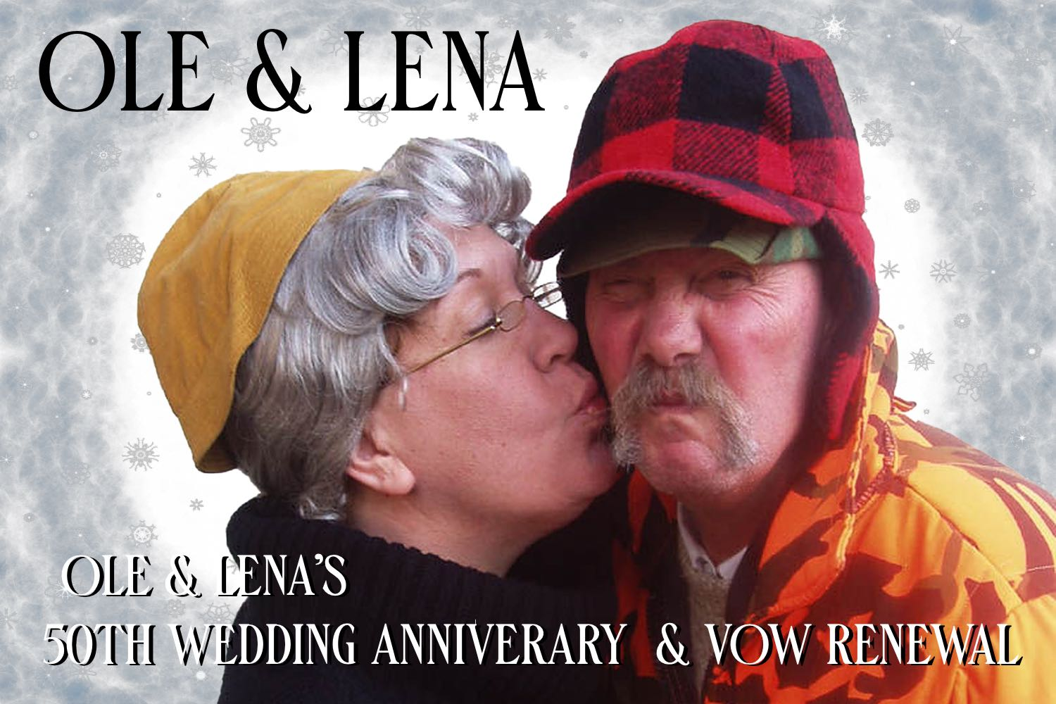 Ole & Lena's 50th Wedding Anniversary